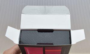 エクストリームリーYSLフォーリップスの外箱は片方からしか取り出せない