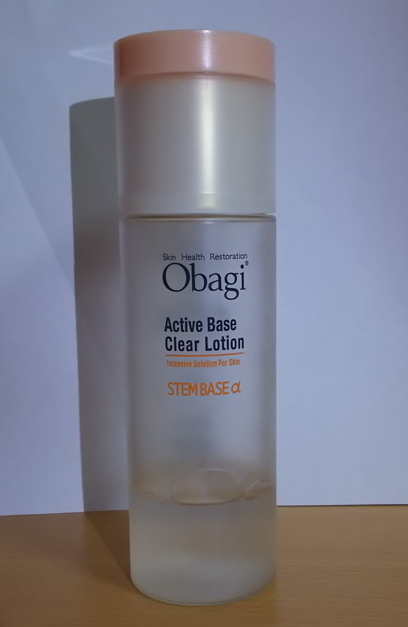 オバジの化粧水(オバジ アクティブベースクリアローション)を使ってみた(^ω^)