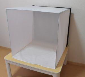 LS deco撮影ボックス60を組み立てた