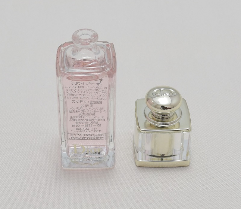 ディオールアディクトクリスマスオファーのミニ香水を開けてみた