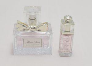 ディオールアディクトクリスマスオファーのミニ香水を比較してみた