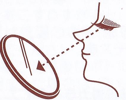 ABふたえカラープチフィルム(ブラウン)の使い方4