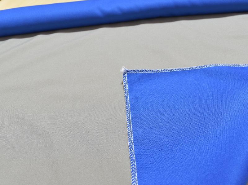 LS deco撮影ボックス60の青グレー布