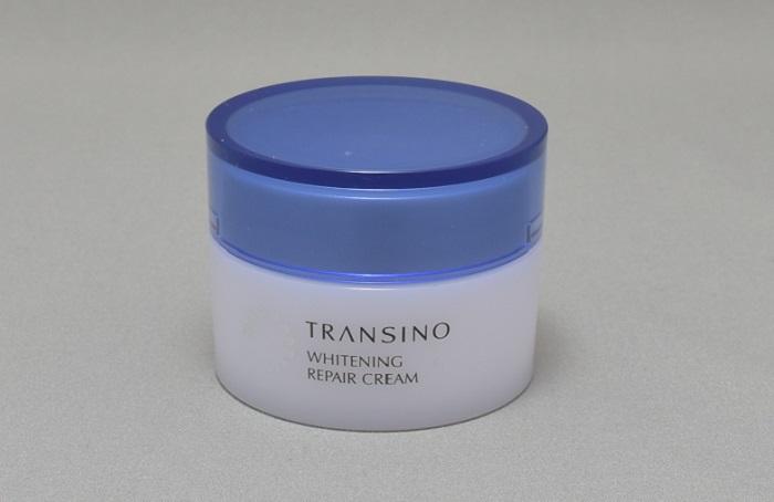 トランシーノ薬用ホワイトニングリペアクリームレポ!