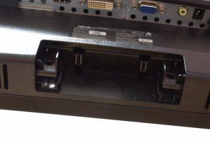 ASUSのVC239Hの台座を外してカバーを外してネジを外すと金属部が外れる