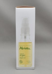 メルヴィータビオオイル(アルガンオイル)の箱側面2