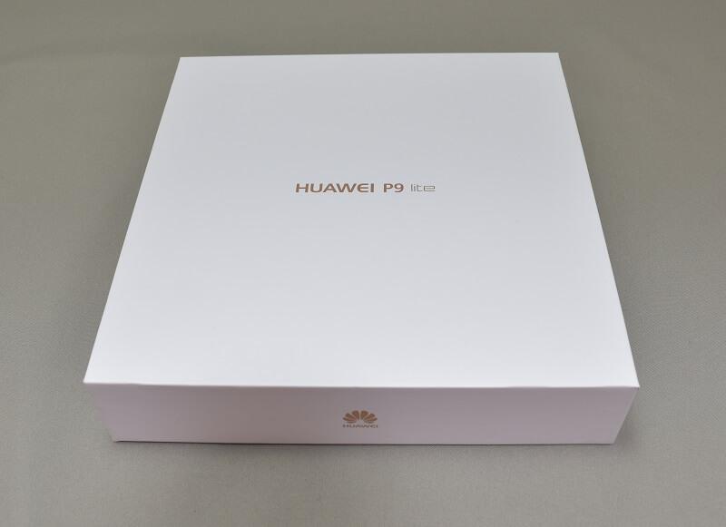 Huawei P9 LITEの外箱