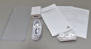 Huawei P9 LITEの付属品