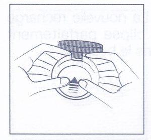 ディオールスキンフォーエヴァークッションのリフィル交換方法1