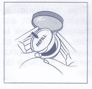 ディオールスキンフォーエヴァークッションのリフィル交換方法2