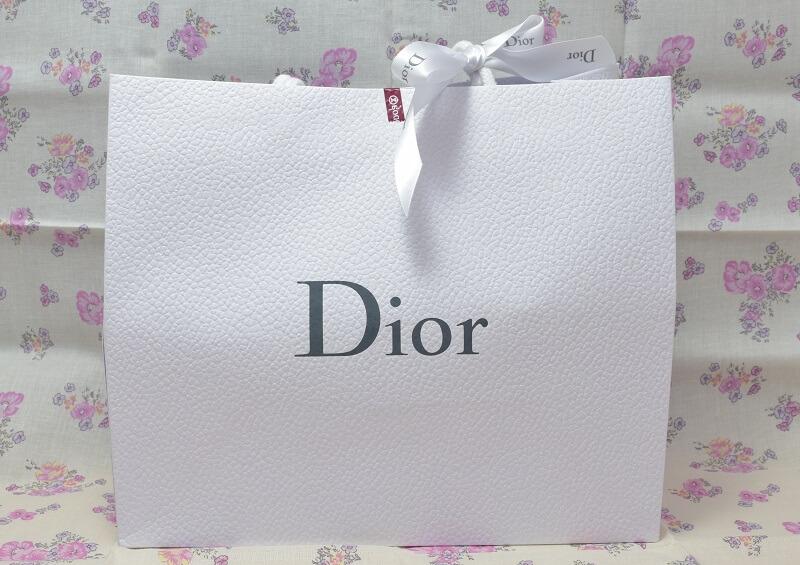 ディオールの紙袋