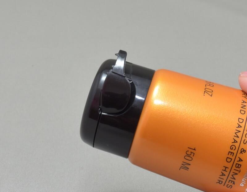 メルヴィータオイルコンディショナーリペアのキャップのカバー
