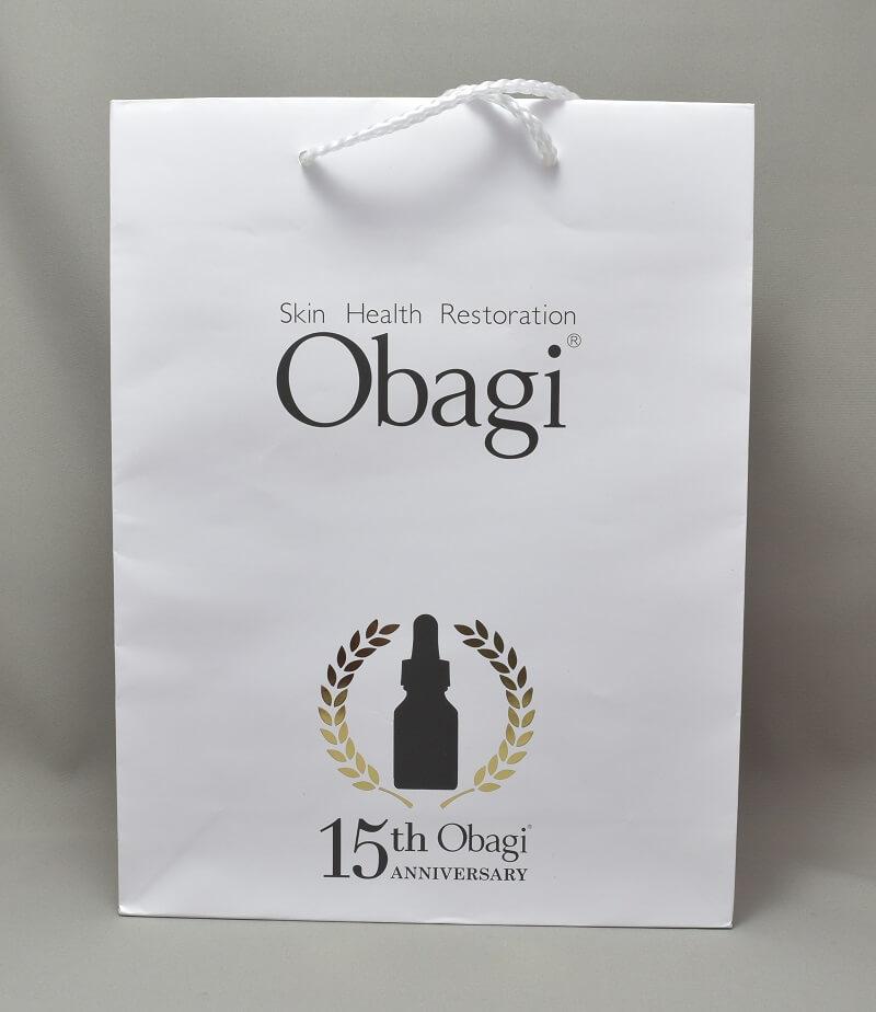 オバジC20ご褒美セットの袋