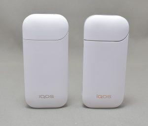 新型アイコス「iQOS 2.4 Plus」と旧型アイコスのポケットチャージャーの違い
