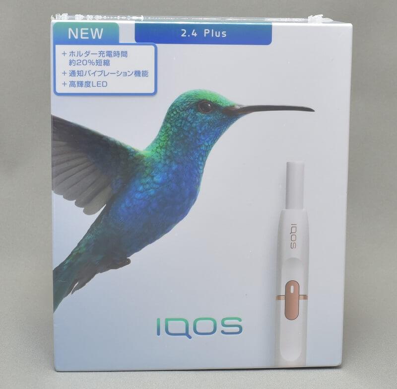 新型アイコス「iQOS 2.4 Plus」の外箱上面