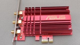 ASUSの「PCE-AC68」っていう無線lanアダプタで自作PCをWi-Fi対応にできた!!