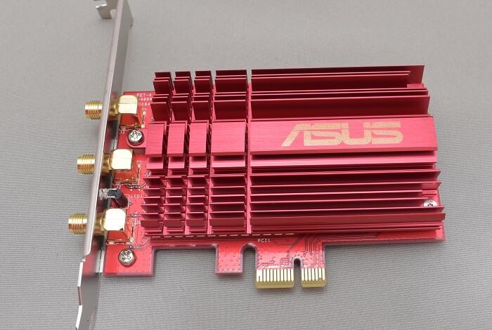 自作PCで無線lanを使うならASUSの「PCE-AC68」っていう無線lanアダプタがオススメ!!