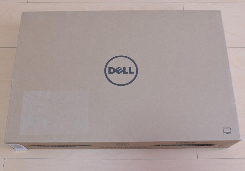 Dell / Inspiron 15 7000 (7567) Gaming プラチナの外箱