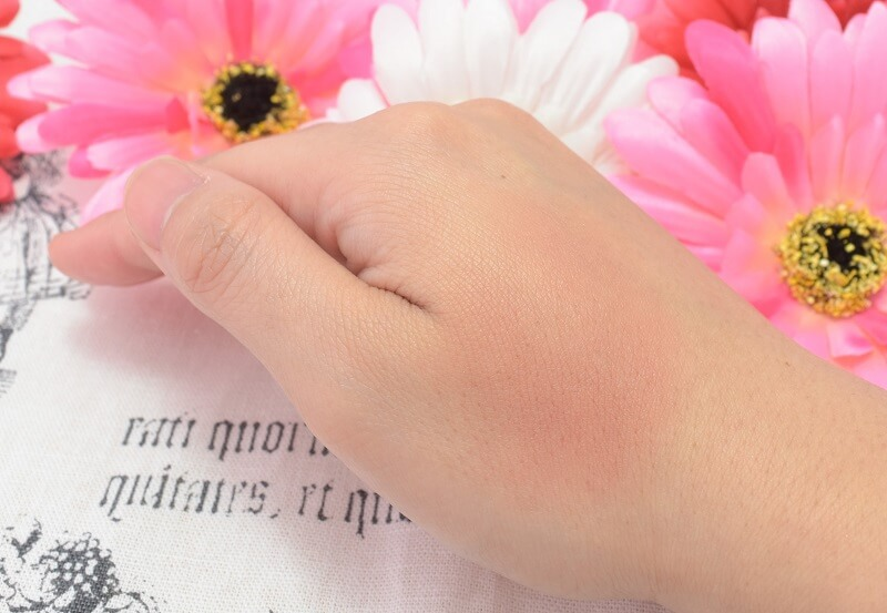 チャコット/メイクアップカラーバリエーション#623を手の甲に塗ってみた!