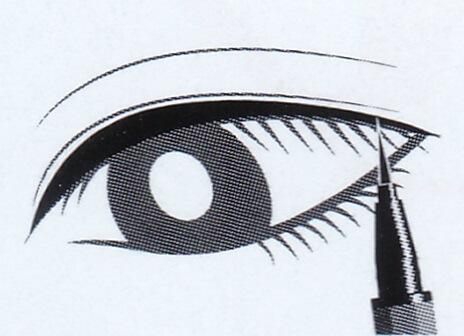フローフシ / モテライナー リキッド #ブラックの使い方③