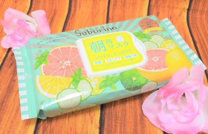 【レポ】 サボリーノ / 目ざまシート (ミンティーグレープフルーツの香り)