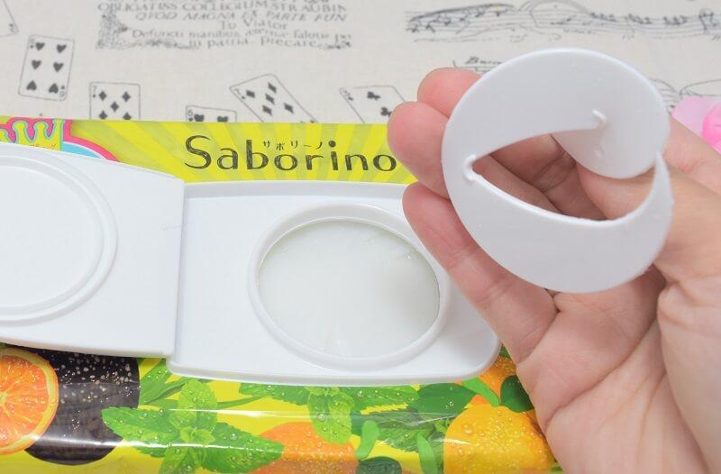 サボリーノ/目ざまシート(フルーティーハーブの香り)を開封してみた