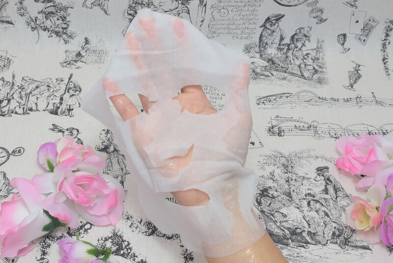 サボリーノ/目ざまシート(フルーティーハーブの香り)のシートマスク