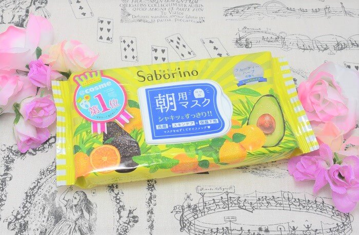 【レポ】 サボリーノ / 目ざまシート (フルーティーハーブの香り)