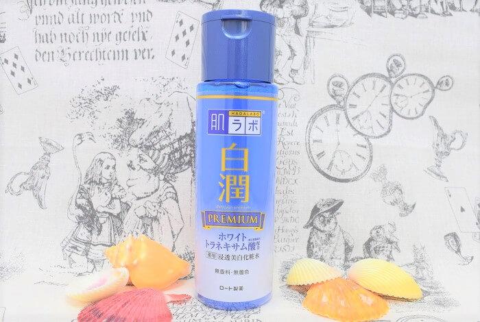 プチプラなのに高級化粧水並み??肌ラボの白潤プレミアム化粧水がプレミアム級に潤う!