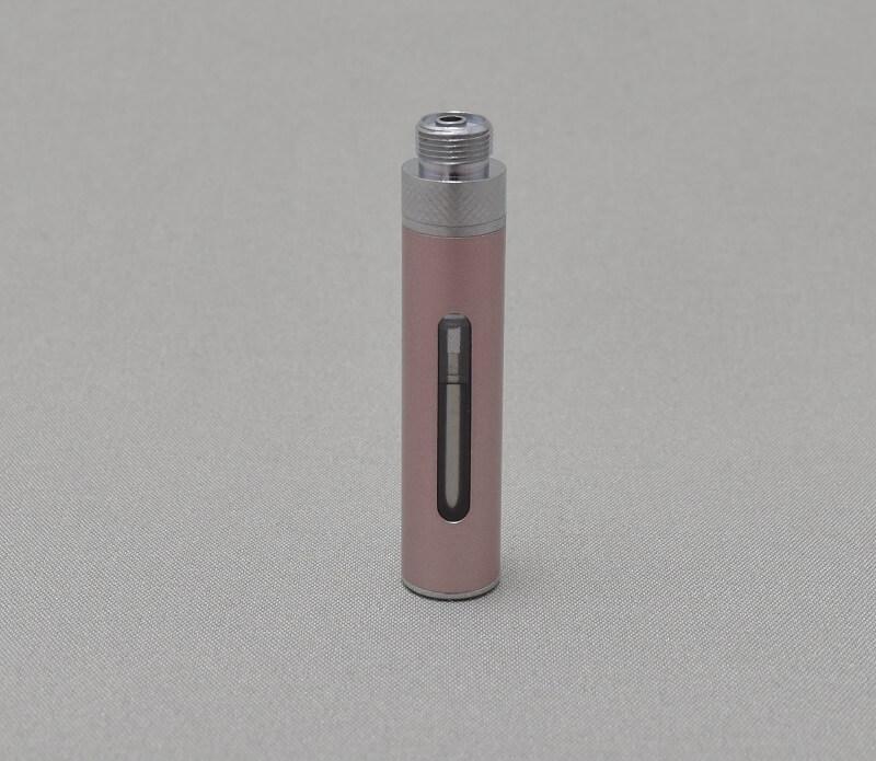 「+Beauty 吸う美容液」の初回購入特典の「KAMRY MICRO Vapor」に「+Beauty 吸う美容液」リキッドを入れ終わったらフタをする