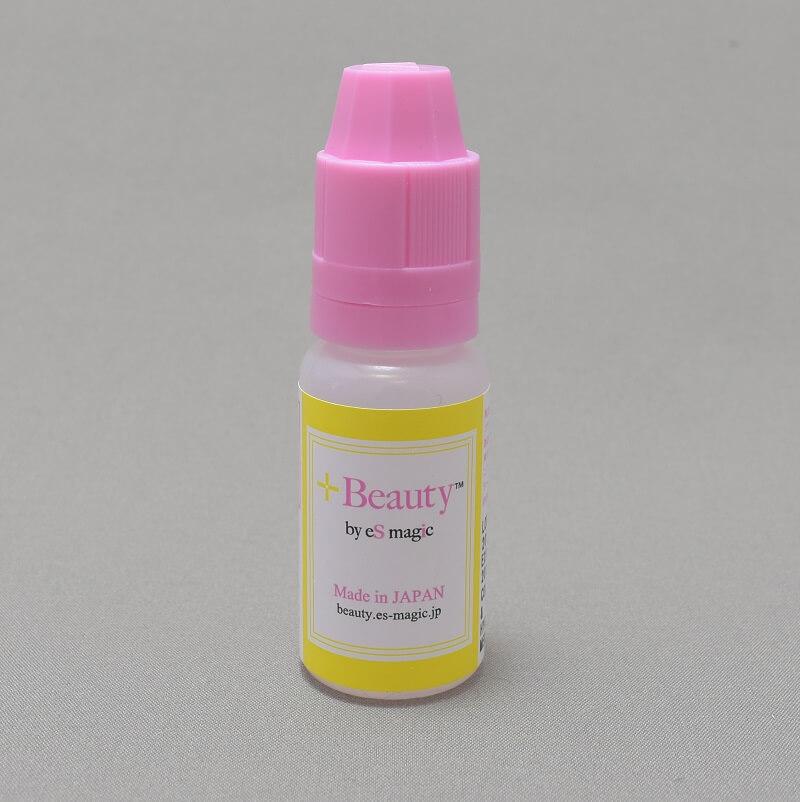 「+Beauty 吸う美容液」のリキッドのボトル