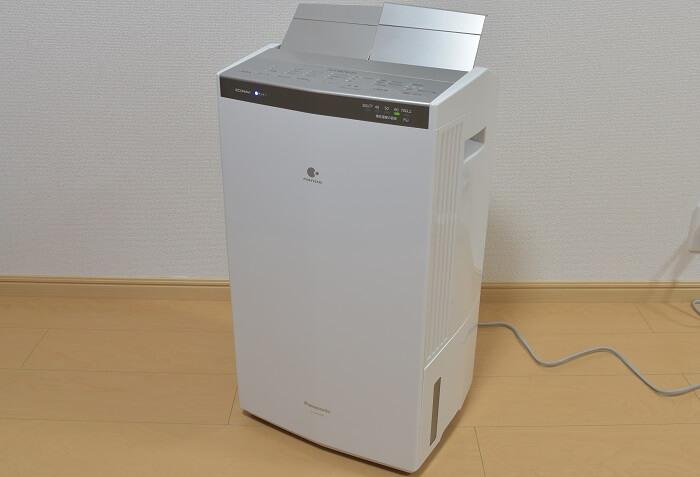 【レビュー】パナソニックの衣類乾燥除湿機「F-YHPX200-S」は部屋の除湿も完璧で、お値段以上です!