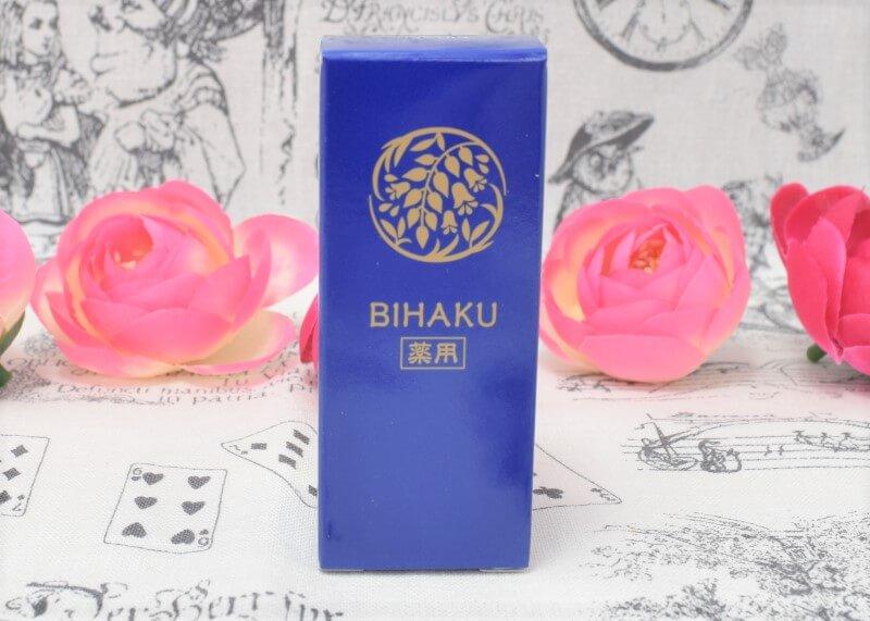 薬用美白オイル(BIHAKU)の外箱