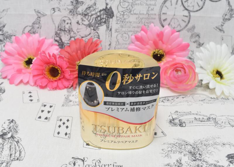 TUBAKI プレミアム リペアマスクのパッケージ