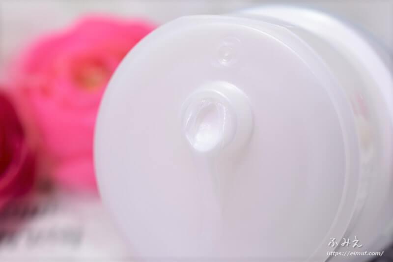 ニベア クリームケア洗顔料(とてもしっとり)のチューブ口
