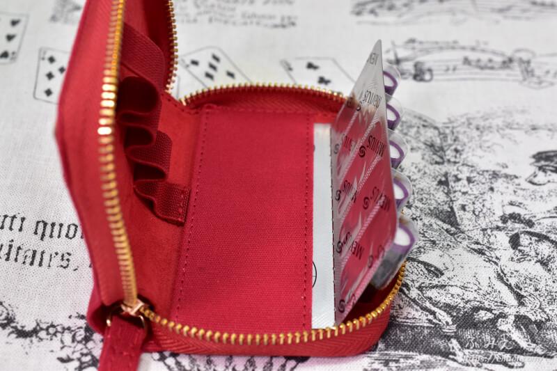 「PloomTECH ポケッタブルポーチ(RED)」本体にプルームテックカプセルを収納してみた2