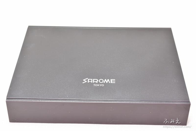 ベプログオリジナル「SAROME VAPE-1 スターターキット」のプラスチックの容器