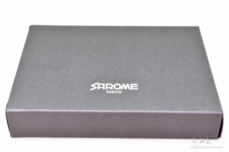 ベプログオリジナル「SAROME VAPE-1 スターターキット」の外箱上面