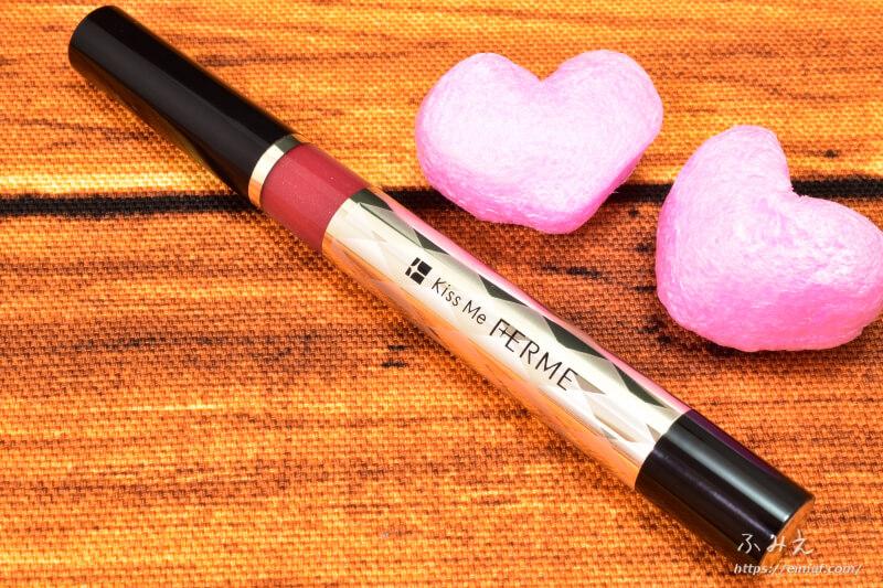 キスミーフェルムの紅筆リキッドルージュ #05(華やかなレッド)本体正面