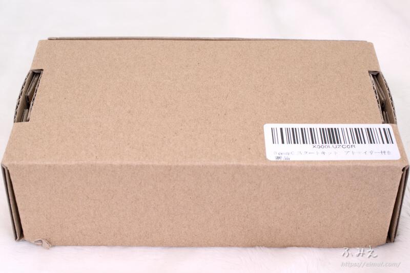 アイコスの互換機「Ocean-C N1」のパッケージ裏面