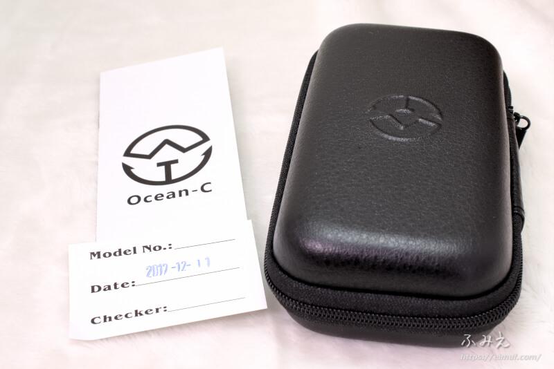 アイコスの互換機「Ocean-C N1」のパッケージの中身