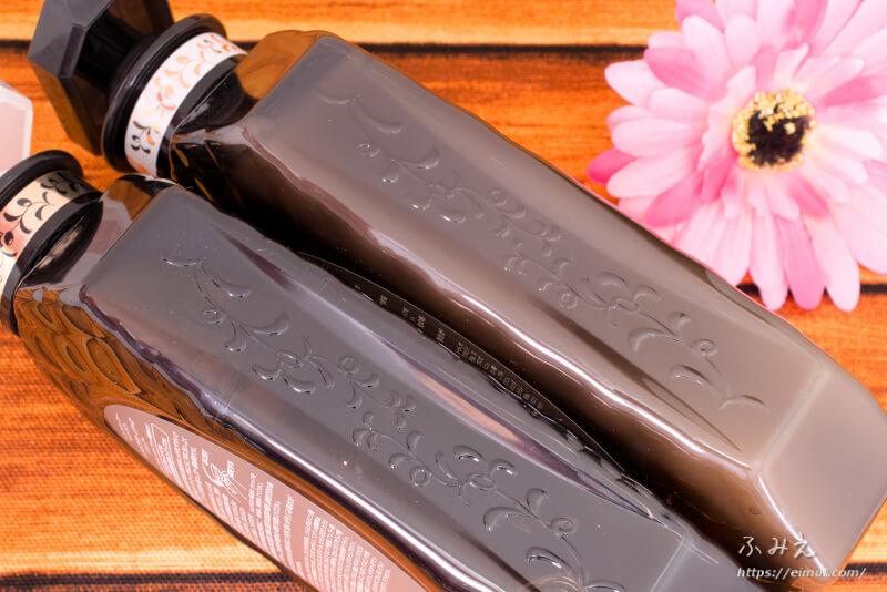 モイストダイアンのパーフェクトビューティ エクストラダメージリペア シャンプー本体ボトル側面