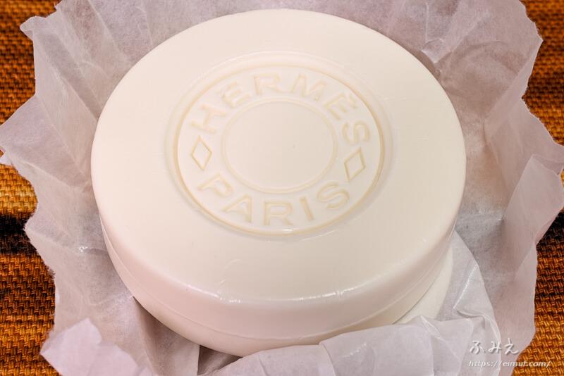 エルメスのアメニティセットの石鹸