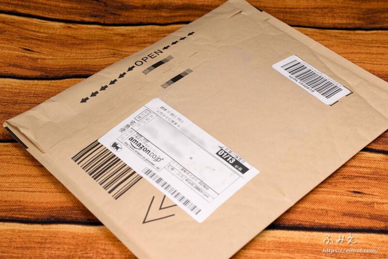 プルームテック互換バッテリー「Moosky」が届いたamazonの封筒