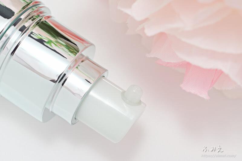 アルビオン アンフィネスホワイト ホワイトサージ ソリューション(美容液) のポンプ口