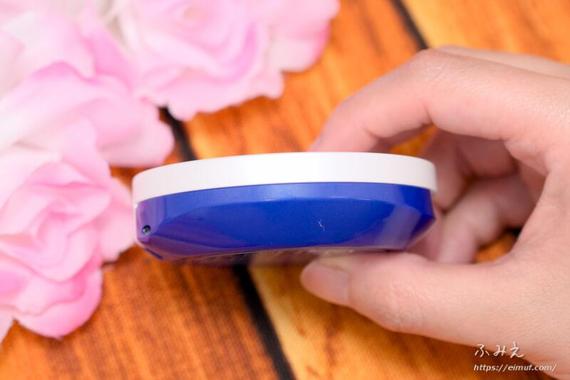 トランシーノ 薬用UVパウダー コンパクト側面