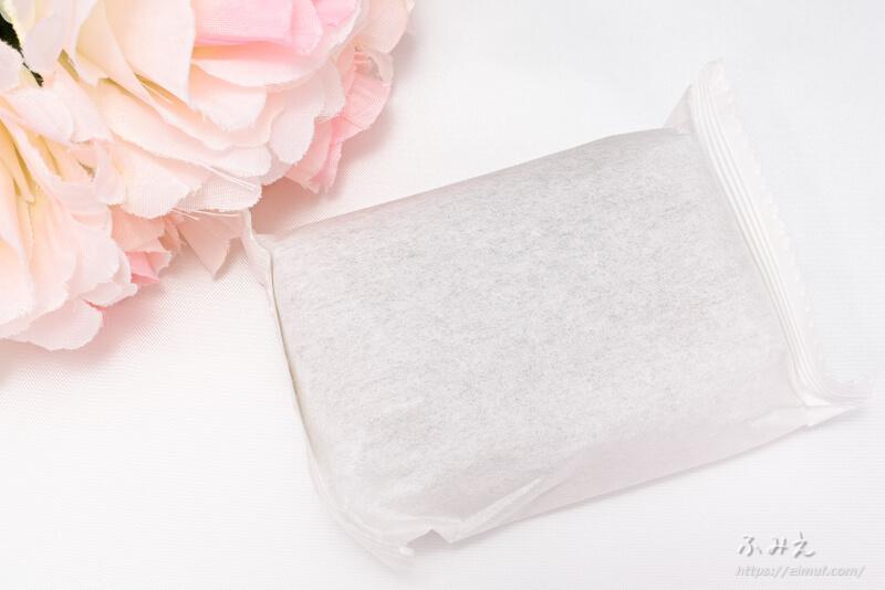 植物プラセンタ石鹸Honoho をパッケージから出してみた