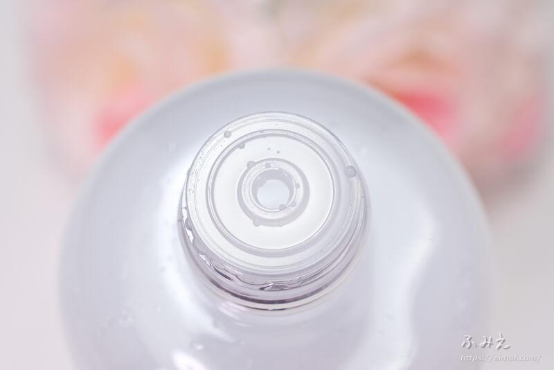 ナチュリエ スキンコンディショナー(ハトムギ化粧水) 本体のキャップを開けてみた