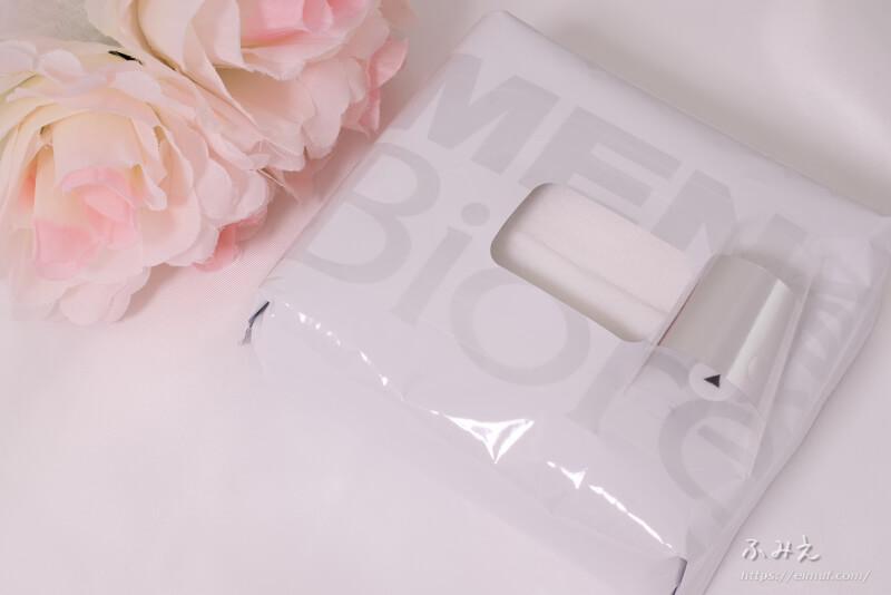 メンズビオレ 洗顔シート フレッシュアップルの香り ふたを開けてみた