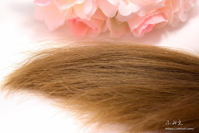ナカノザダイレクト シズクコラーゲン を使った後の髪の毛